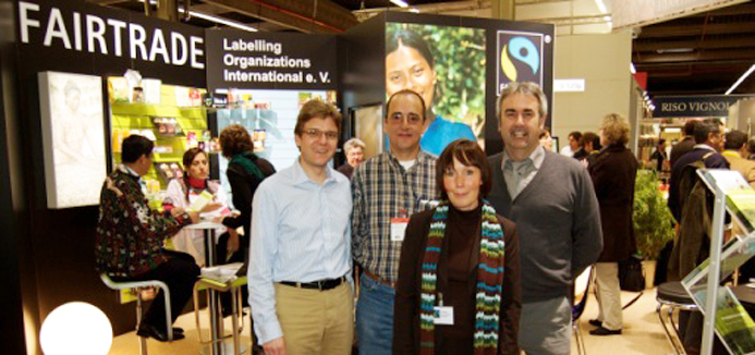 Ben Eastick & Richard Livermore with representatives from Cuba sugar and Fairtrade