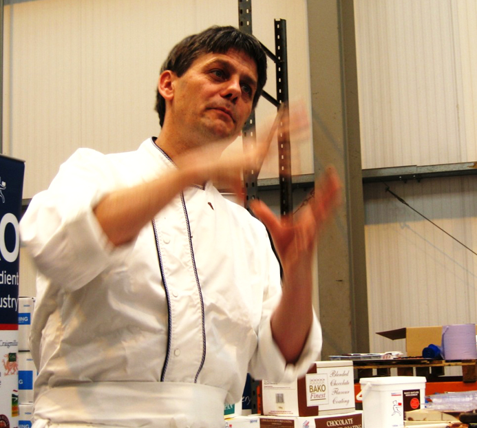 Yorkshire Chef of the Year 2010, Thierry Dumouchel