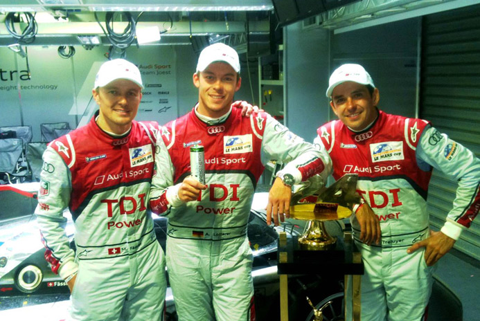 Ragus organic sugar powers Team Audi at Le Mans.