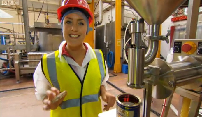 Katy Ashworth Helps Make Eastick's Golden Syrup
