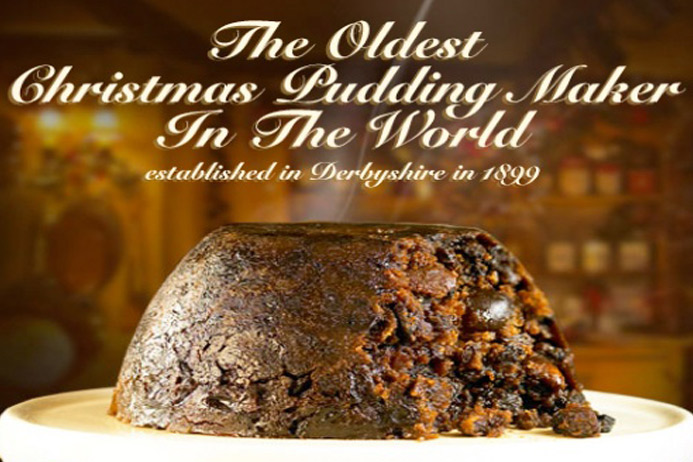 Heston Blumenthal's 'Hidden Orange' Christmas Pudding