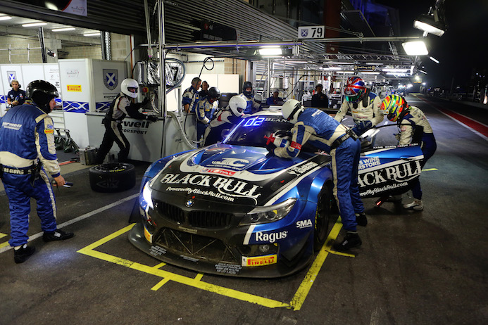 Ecurie Ecosse Midnight Driver Change