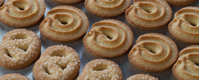 Golden Syrup is key to adding texture and colour during the baking of biscuits.