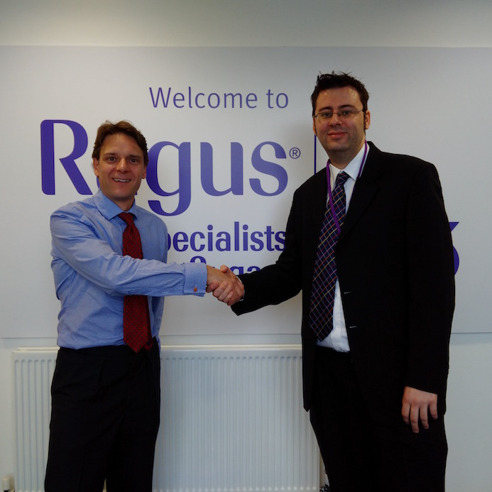 Ben Eastick welcomes Simon Rowley to Ragus