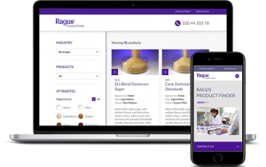 Ragus product finder
