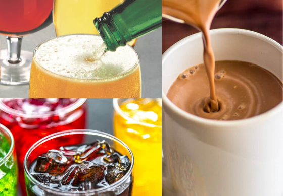 How is sugar used in beverages?