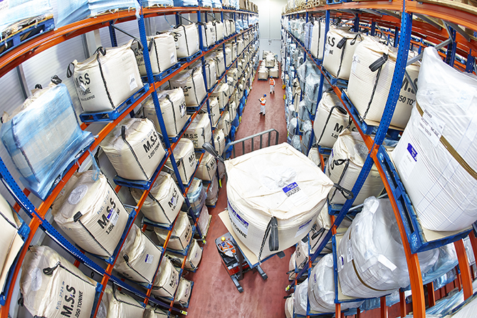 Warehouses have been in greater demand